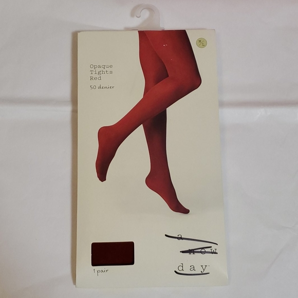 a new day opaque tights size M/L